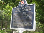 More history on the reverse side of the sign.