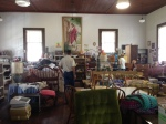 Inside the church/thrift store