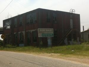 Commerce in action! Alabama River adjacent!